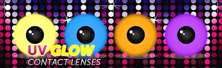 UV Glow Contacts