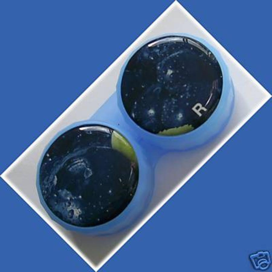Blueberry Plum Summer Fruits Contact Lens Holder For Lenses