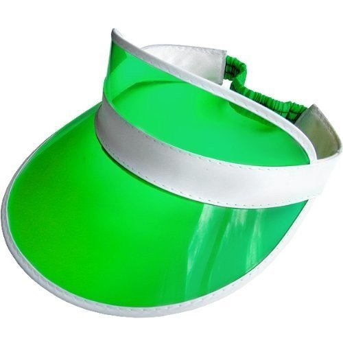 Green Poker Dealer / Sun Visor Hat
