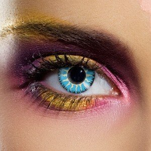 Edit Glamour Blue Contact Lenses