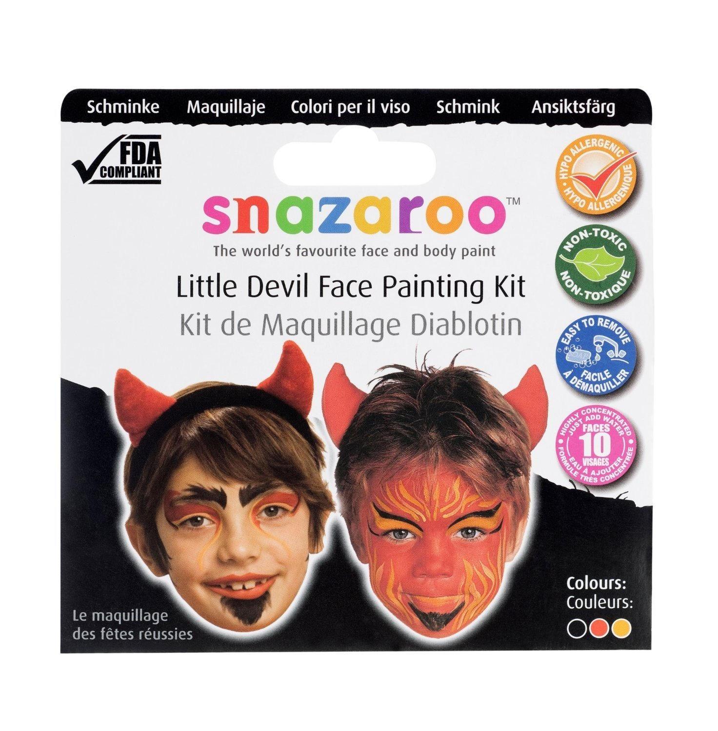 Snazaroo - Little Devil Theme Pack