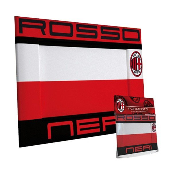 AC Milan Landscape Rubber Photo Frame