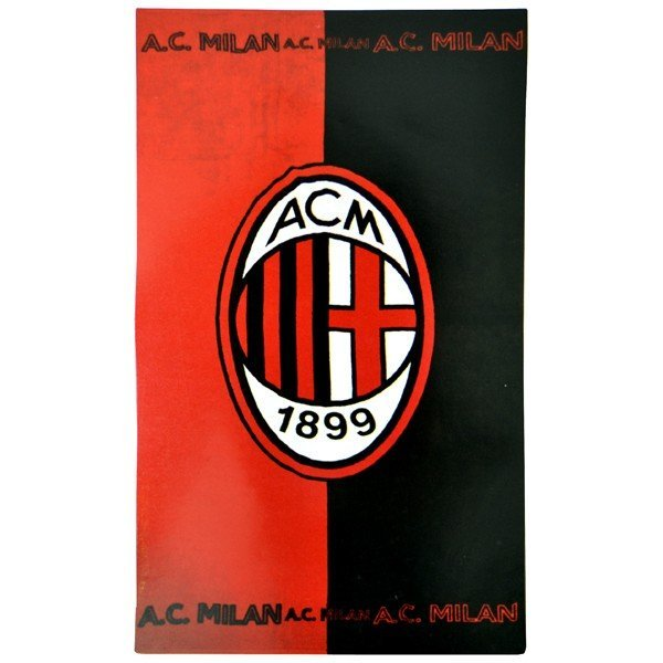 AC Milan Printed Towel - Big