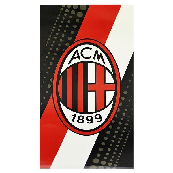 AC Milan Stripe Beach Towel