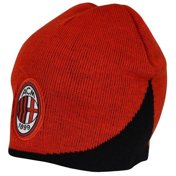 AC Milan Wave Knitted Beanie Hat