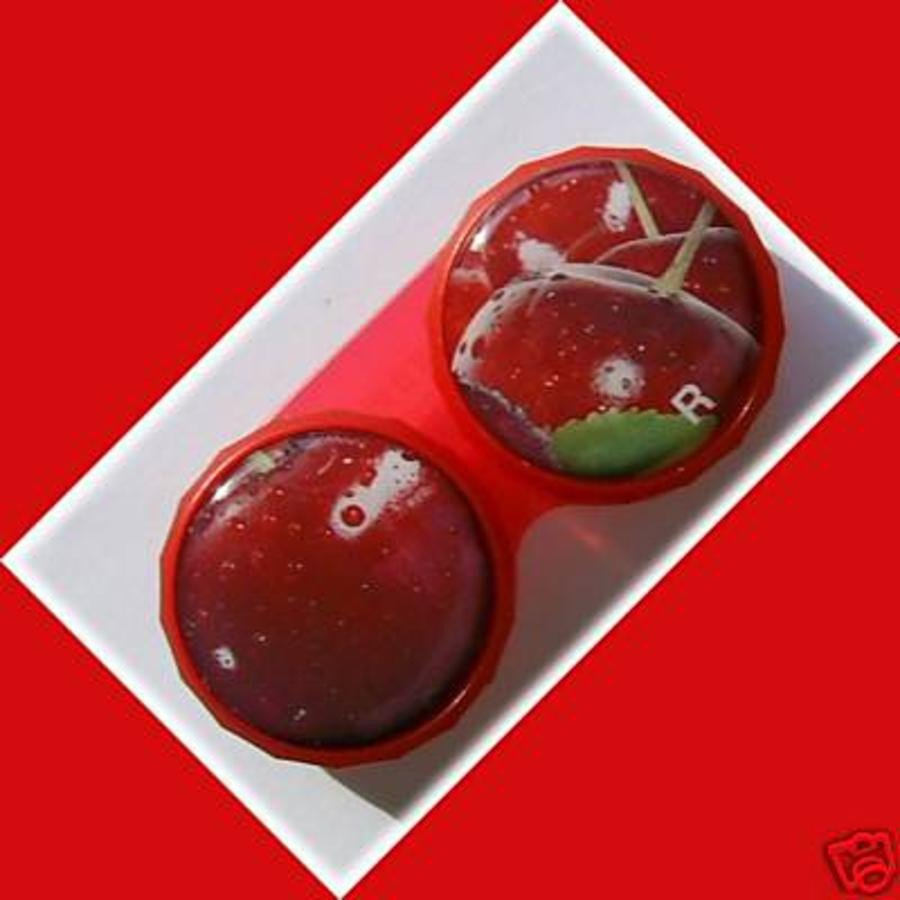 Cherry Summer Fruits Contact Lens Holder For Lenses