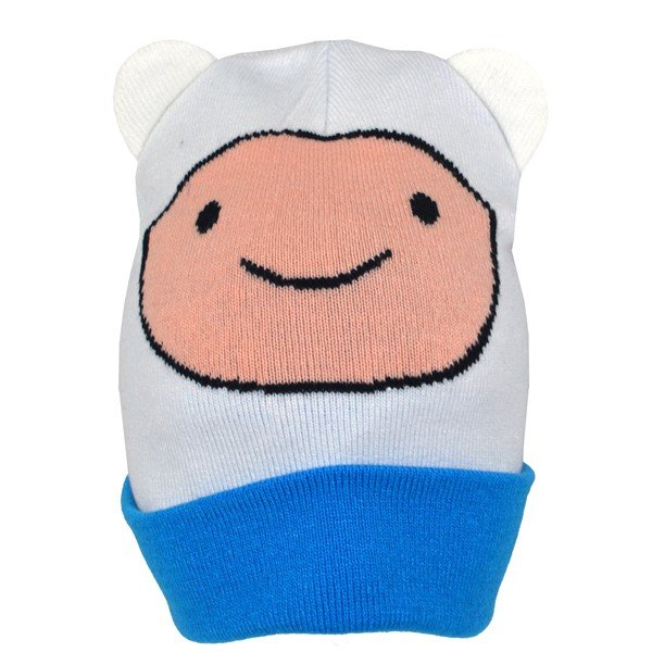 Adventure Time Ears Finn Roll Down Hat - Junior