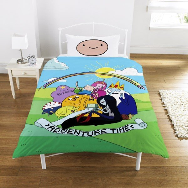 Adventure Time Group Single Duvet