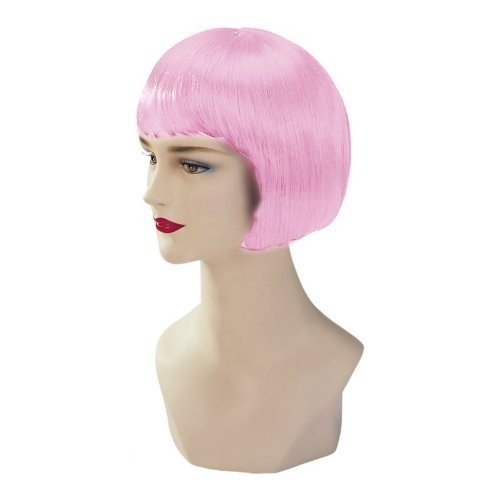Baby Pink Stargazer Adjustable Bob Style Fashion Wig