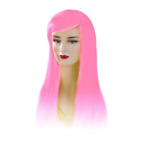 Hot Pink Stargazer Adjustable Jezzabel Style Fashion Wig