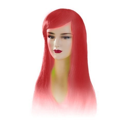Red Stargazer Adjustable Jezzabel Style Fashion Wig