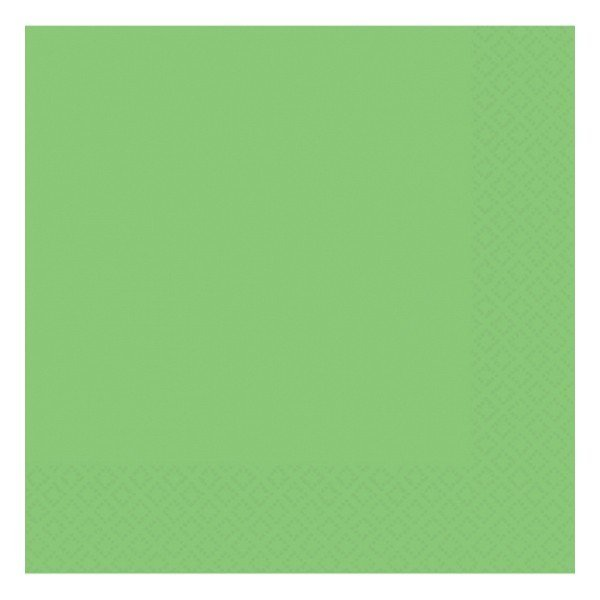Amscan 2 Ply Lunch Napkins - Kiwi Green