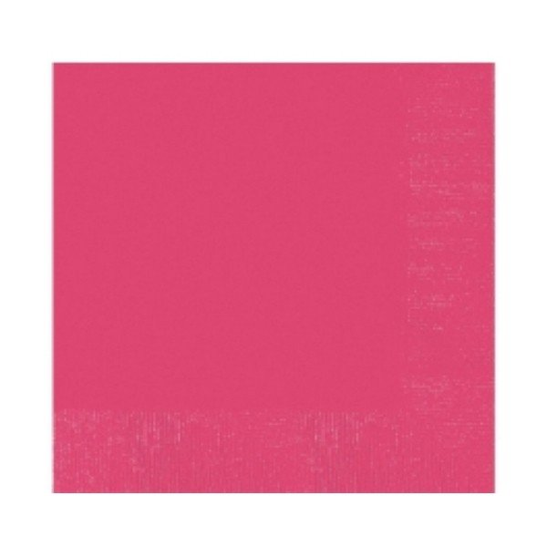 Amscan 2 Ply Lunch Napkins - Magenta