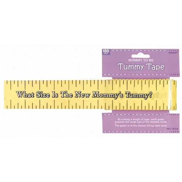 Amscan Baby Shower Tummy Measure Game