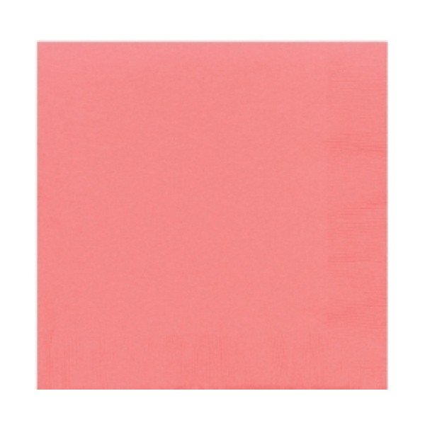 Amscan Beverage Napkins - Pretty Pink