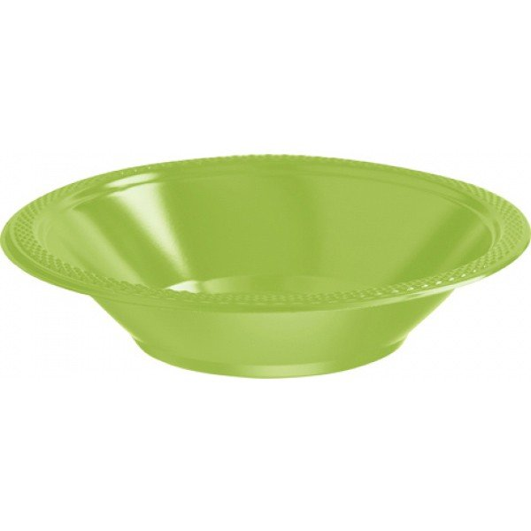 Amscan Bowl - Kiwi Green