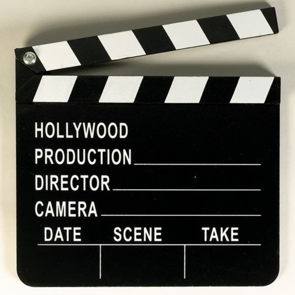 Amscan Clapboard - Hollywood