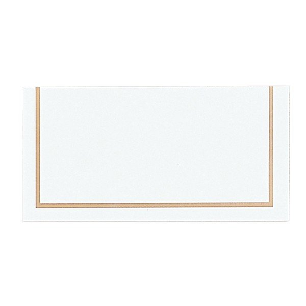 Amscan Classic Placecards - Gold