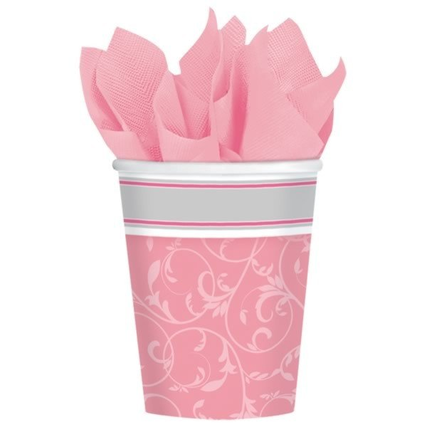 Amscan Cups - Communion Blessing Pink