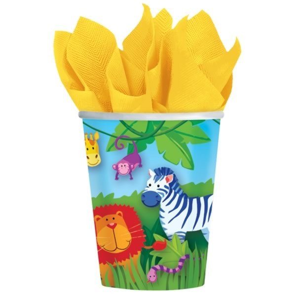 Amscan Cups - Jungle Animals