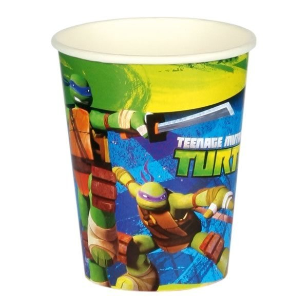 Amscan Cups - TMNT