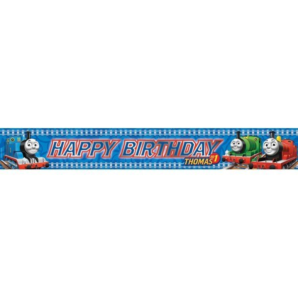 Amscan Foil Banner - Thomas Birthday