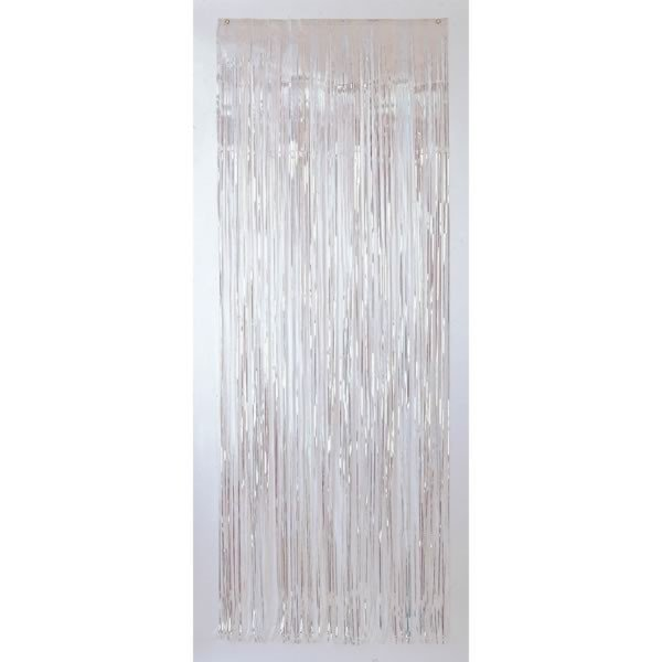Amscan Foil Door Curtain - Iridescent