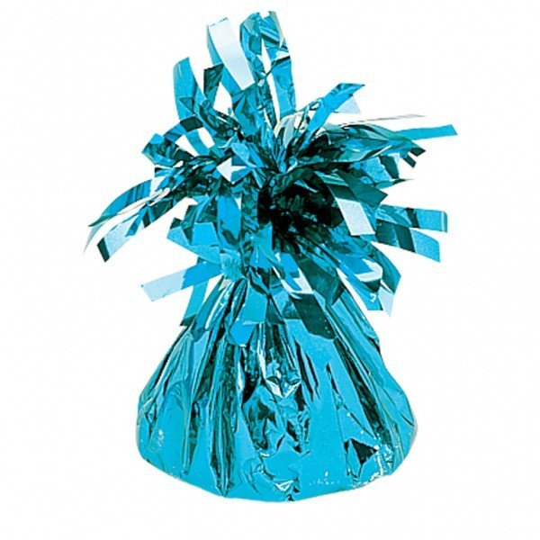 Amscan Foil Tassels Balloon Weight - Baby Blue