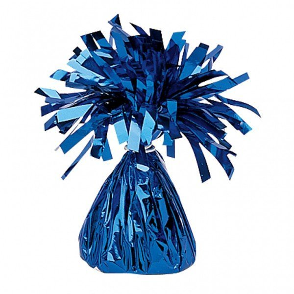 Amscan Foil Tassels Balloon Weight - Blue