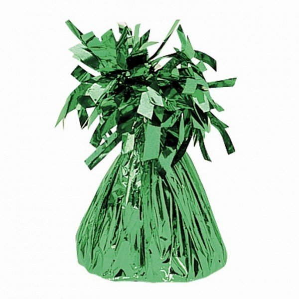 Amscan Foil Tassels Balloon Weight - Green