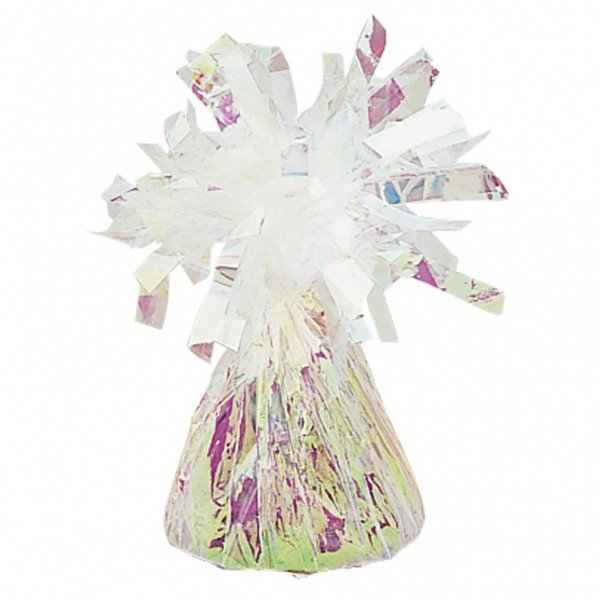 Amscan Foil Tassels Balloon Weight - Iridescent