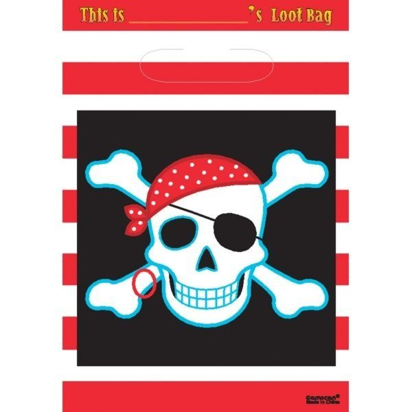 Amscan Lootbags - Pirate Party