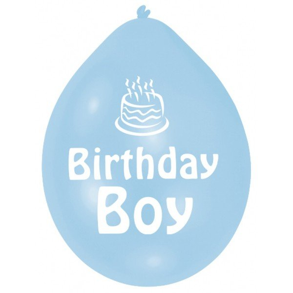 Amscan Minipax Balloon Pack - Birthday Boy