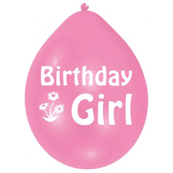 Amscan Minipax Balloon Pack - Birthday Girl