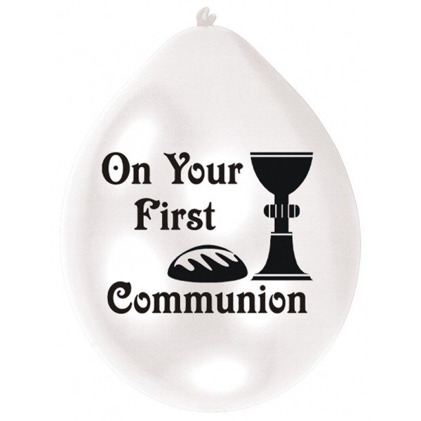 Amscan Minipax Balloon Pack - First Communion