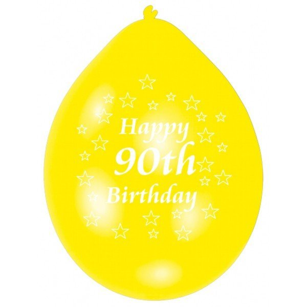 Amscan Minipax Balloon Pack - Happy 90th Birthday