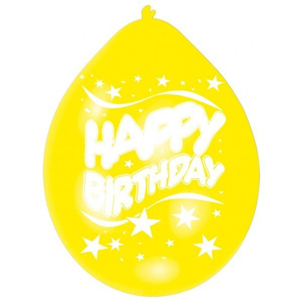Amscan Minipax Balloon Pack - Happy Birthday