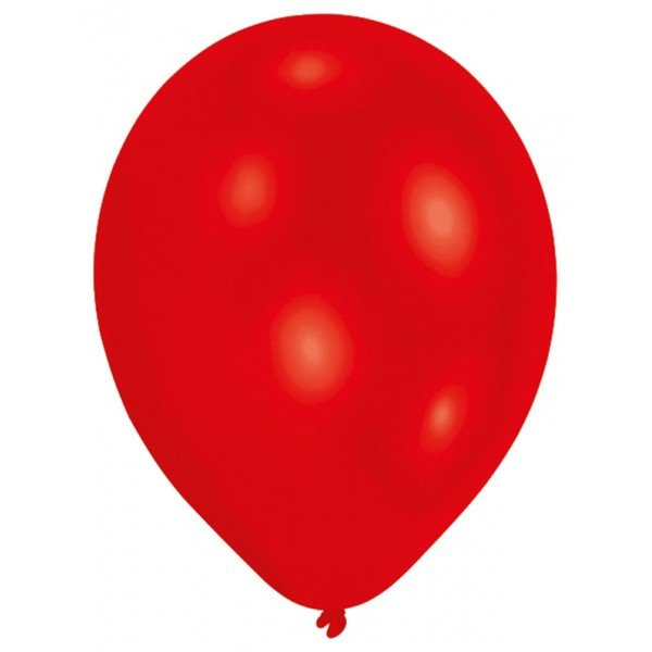 Amscan Minipax Balloon Pack - Met Red