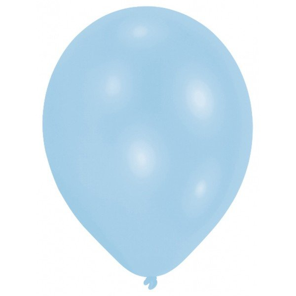 Amscan Minipax Balloon Pack - Pearl Powder Blue