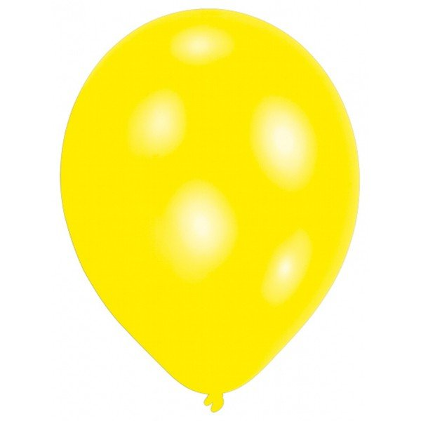 Amscan Minipax Balloon Pack - Pearl Yellow