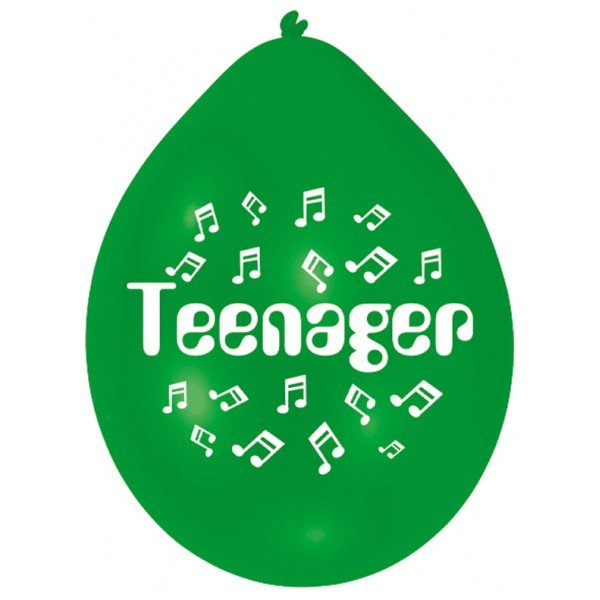 Amscan Minipax Balloon Pack - Teenager