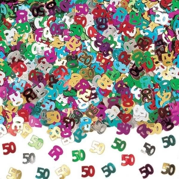 Amscan Multicoloured Confetti - 50