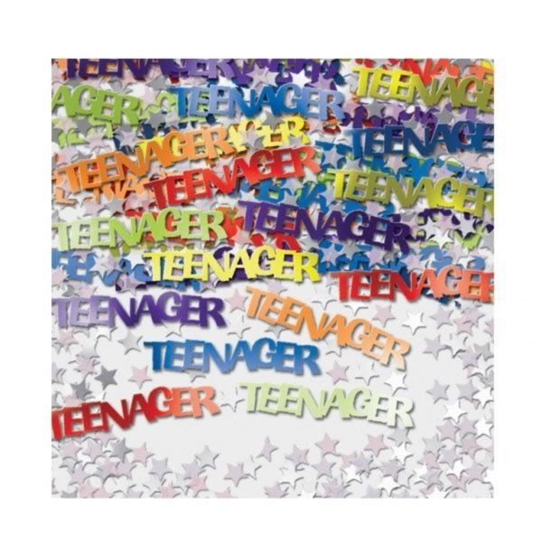 Amscan Multicoloured Confetti - Teenager
