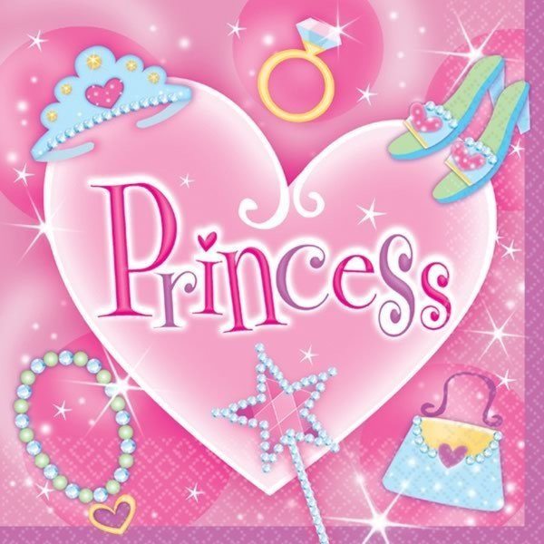 Amscan Napkins - Princess