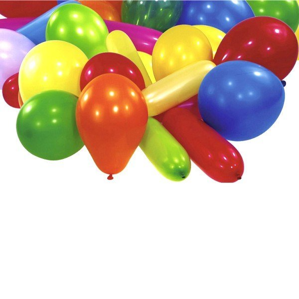 Amscan Novelty Balloons - Star Value 25 Assorted