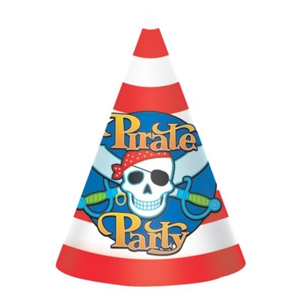 Amscan Party Hats - Pirate Party