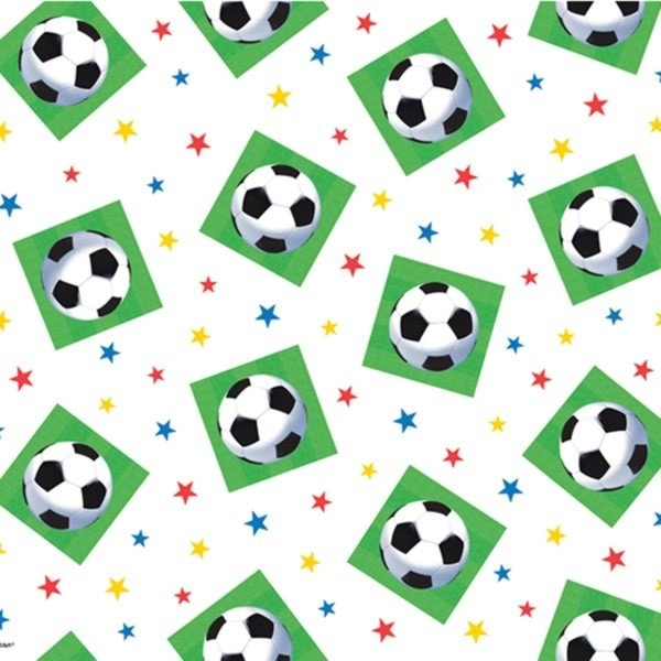 Amscan Plastic Tablecover - Championship Soccer