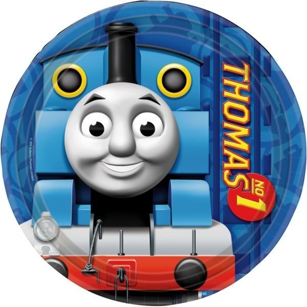 Amscan Plate - Thomas & Friends