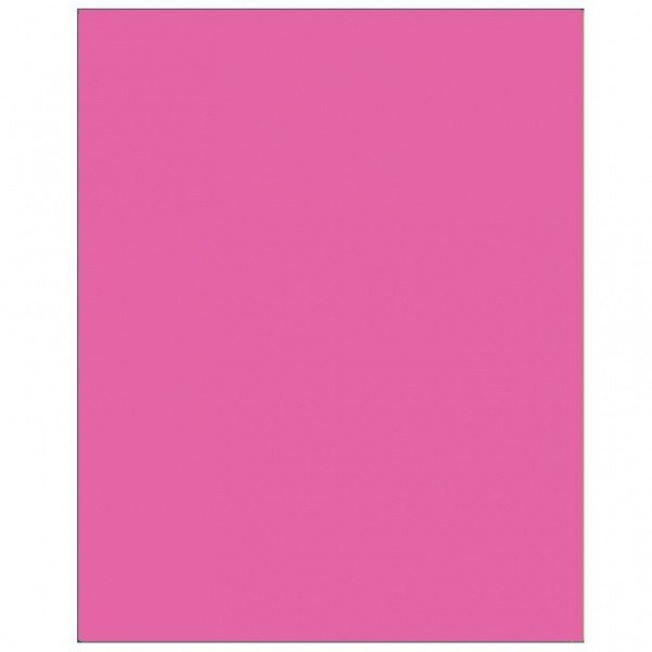 Amscan Rectangular Plastic Tablecover - Bright Pink