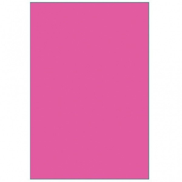 Amscan Round Plastic Tablecover - Bright Pink